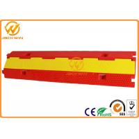 Buy cheap Light Duty Plastic PVC 2 Channel Cable Protector 10 Ton Weight Capacity from Wholesalers