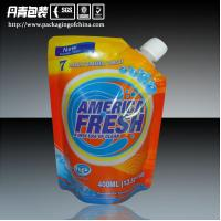 Quality Customized Laminated Detergent Packaging      Doypack Bags With Corner Spout for sale