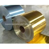 Quality Air Conditioner Aluminum Coil , Hydrophilic Aluminium Fin Thickness 0.09-0.20MM for sale