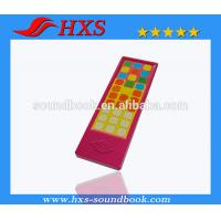 Quality OEM Appearance Educational Plastic Music Sound Module/Sound Pad for Books for sale