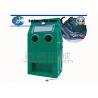 Quality Reinforced Fiberglass Body Wet Sandblasting Cabinet 1050*750*1750mm Dimension for sale