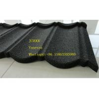 Stone Coated Metal Roof Tile size 1300*420mm Thickness 0.45mm Roman Tile JC109 Green Black
