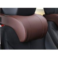 Quality Soft And Comfortable Car Headrest Pillow PVC Leather Material For Car Accessories for sale