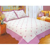 Quality 100 Percents Polyester Embroidery Quilt Kits 220x240 / 240x260cm Large Sizes for sale