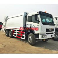 Quality 20 Tons Garbage Compactor Truck 6x4 Right Hand Driving 18 - 20m3 Volume for sale
