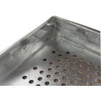 Buy cheap Metal Perforated Aluminum Tray for food industries,600X400 size from wholesalers