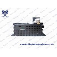 Quality 18W Power UHF VHF Jammer WiFi 2400 - 2500MHz Affected Frequency Ranges for sale
