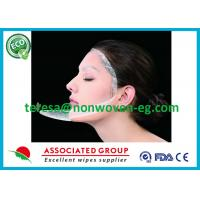 Quality Clean Whitening Needle Punched Non Woven Fabric Face Mask Sheet Soft Breathable for sale