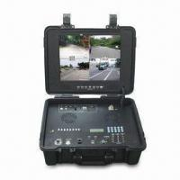 Quality COFDM wireless 4-channel receiver for receiving 4 different frequency video at the same time for sale
