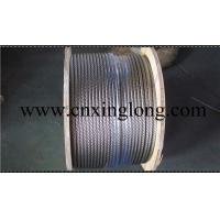 Quality sell xinglong galvanized aircraft cable and aisi 304 stainless steel aircarft cable for sale
