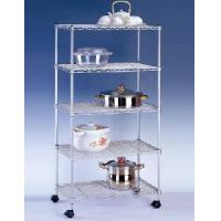 Quality Mobile Wire Mesh Shelf (JCWS-004) for sale