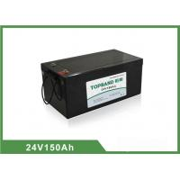 Quality 24V 150Ah LiFePO4 Electric Forklift Battery Deep Cycle Over 2000 cycles @ 100 % DOD for sale