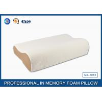 Quality High Density Slow Recovery Cervical Memory Foam Contour Pillow With Soft Cover for sale