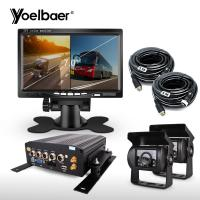 Quality High Definition Vehicle Camera Recording System 4G GPS For School Bus Trucks for sale