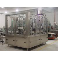 Fresh Fruit Concentrate PET Bottle Juice Filling Machine PLC Control With Touch Screen