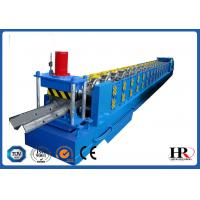 Quality Standard Size Highway Roadside W Beam Guardrail Roll Forming Machine for sale