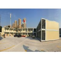 Quality Official Area Flat Pack Office Buildings Two Stories With Galvanized Steel Frame Structure for sale