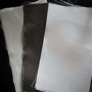 China Dust / Air / Powder Filtration Filter Press Cloth 360gsm E Glass Non Alkali Graphite Fiberglass Cloth on sale
