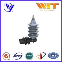 Quality 15KV Distribution Power Networks Metal Oxide Surge Arrester Gapless with Kema Tested for sale