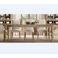 Wood Dining Table For Sale: French Solid Wood Vintage Dining Room Table Antique Style