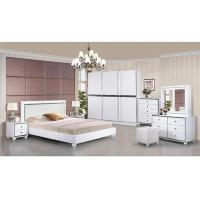 Quality Turkish Moslem High Gloss Bedroom Furniture Wardrobes Khaki Color With 2.7 Meter Length for sale