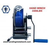 Quality Hand Winch 1500kg winch Strap/Webbing/Dyneema Rope 2speed- Boat Car Marine Trailer for sale
