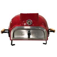 China Outdoor Camping Kamado Pizza Oven , Wood Fired Pizza Oven Unique Shape on sale