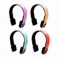 China New Bluetooth Stereo/Music Headphones, High-fidelity, OEM/ODM Orders are Welcome on sale