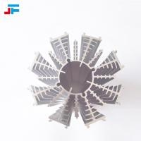 China Jeefly aluminum extrusion 15.6*7.3cm ,396.7g surface cleaning, sandblasting treatment downlight heat sink for sale