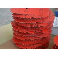 Quality Unsaturated Polyester Laminate Red Upgm 203 Sheet High Tensile Strength for sale