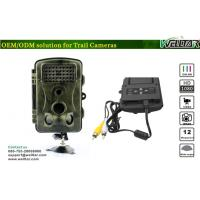 China Wild Night Vision Infrared Trail Camera with Multi-Language Selection on sale