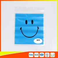 Buy cheap Reclosable custom printed plastic bags Transparent  for Grocery from Wholesalers
