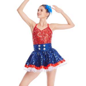 Amazing Tap Costume Race Back Dance Dress Performance Wear