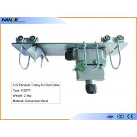 Quality Flat Cable C Track Festoon System C32PT Pendant Trolley With Galvanized Steel for sale