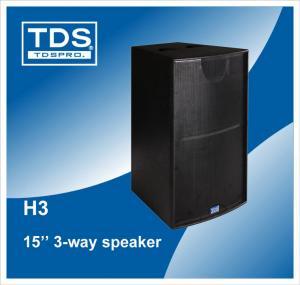 China Horn Professional Speaker, Horn Loudspeaker, High Power Horn Speaker, Outdoor Speaker Waterproof, 3-way Speaker Box  H3 on sale