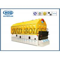 China Biomass Fired Wood Burning Steam Boiler Fire / Water Tube High Pressure on sale