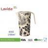 Buy cheap Large Capacity Bamboo Water Jug Environmental Friendly Glass Non - Toxic Easy from wholesalers
