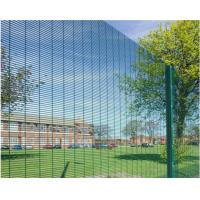 Quality Hot Dip Galvanized Outdoor Security Fencing12,7 X 76,2mm Various Gauge RHS Posts for sale