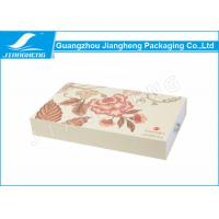 Buy cheap EM Drawer Gift Boxes / Cosmetic Packaging Boxes LOGO Printing Matte Surface from Wholesalers