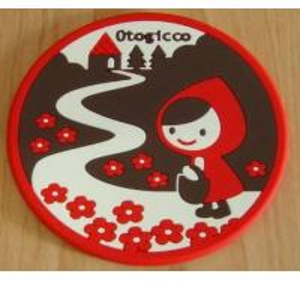 Quality soft PVC coaster cup-mat bar-mat for sale