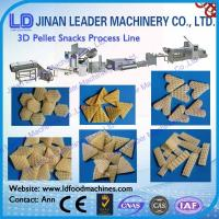 China Low consumption 2d 3d pellet snacks food manufacturing machine on sale