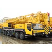 China Heavy 100 Ton Truck Crane Hydraulic Mobile Crane QY100k With Plug-In Boom Head on sale