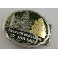 Buy cheap Double Plating 3D Man Custom Made Buckles For Running Awards Single Or Double - from wholesalers