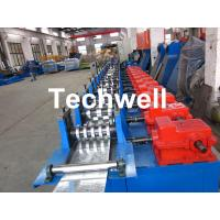 Quality 0-15m/min Forming Speed C Shaped Purlin Roll Forming Machine With GCr15 Steel Roller Material for sale