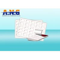 Quality Blank 13.56Mhz Passive Rfid Inlay Custom Plastic Sheet With IC Chip for sale