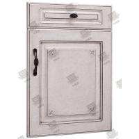 Quality Moistureproof White Wooden Moulded Doors With Lock , Handle And Hinges for sale