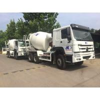 China White Sinotruk Howo7 8M3 10M3 Concrete Mixer Truck With ARK Pto And Pump on sale