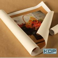 Quality Fabric Art Canvas For Stage Background , Waterbased Polyester Inkjet Canvas for sale