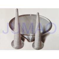 Quality Conical Strainer Filter Element , Monel / Stainless Steel Sintered Cartridge for sale