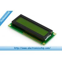 Quality STN 16x2 Black Green Character LCD Display 3.3V For Arduino , ST7066 controller for sale